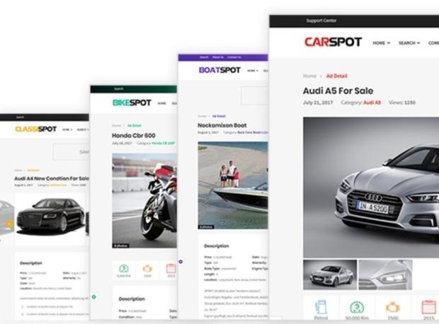 car wordpress theme